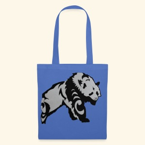 Dessin Panda tribal - Tote Bag