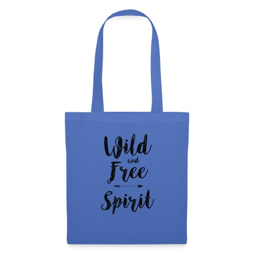 Wild-and-Free-Spirit - Tote Bag