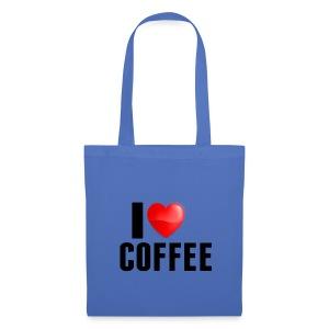 I Heart Coffee - Tas van stof