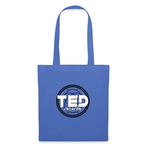LOGO TED RECORDS BLACK & WHITE - Tote Bag
