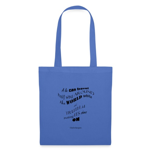A_Lie-- - Tote Bag
