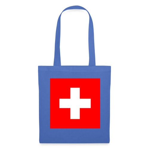 Flag_of_Switzerland - Stoffbeutel