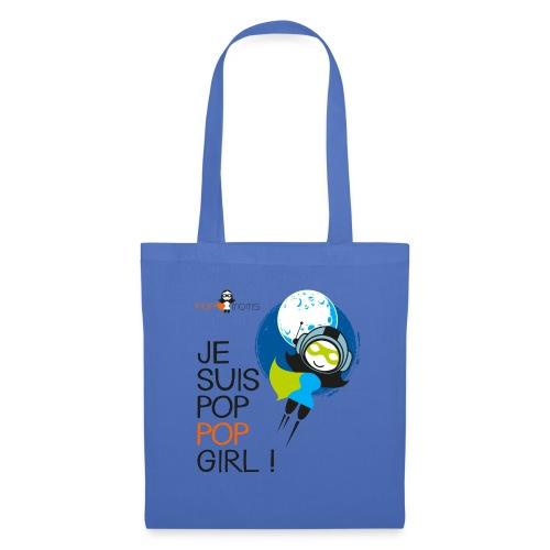 Je suis une pop pop girl - Tote Bag