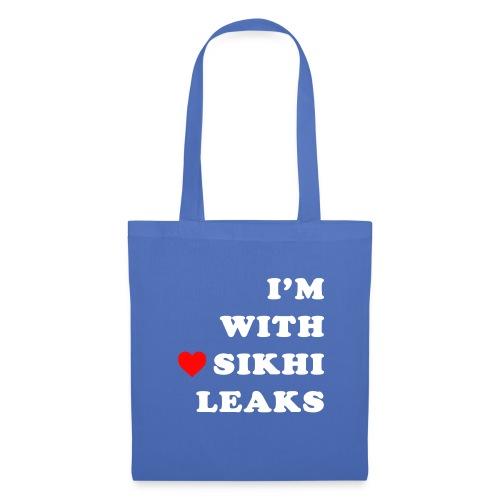 S-L-_I love SikhiLeaks - Tote Bag