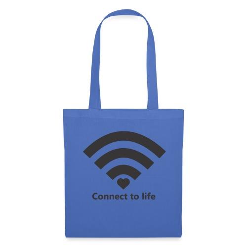 Conect_to_life - Bolsa de tela