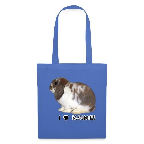 I Love Bunnies Luppis - Kangaskassi