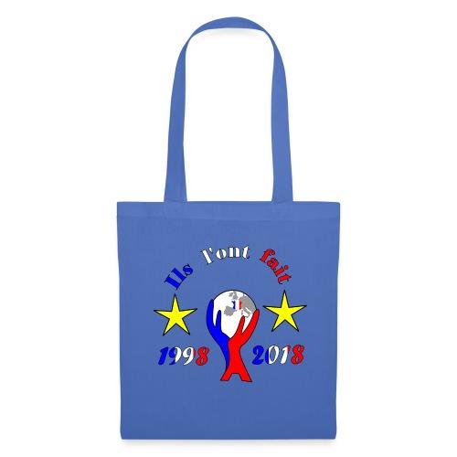 coupe du monde France 2018 football les bleus - Tote Bag