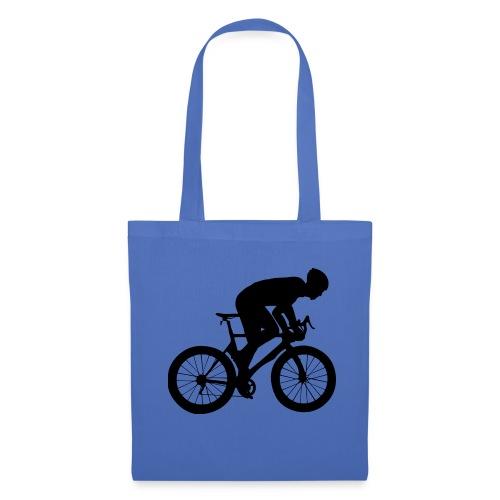 Fahrradfahrer - Stoffbeutel