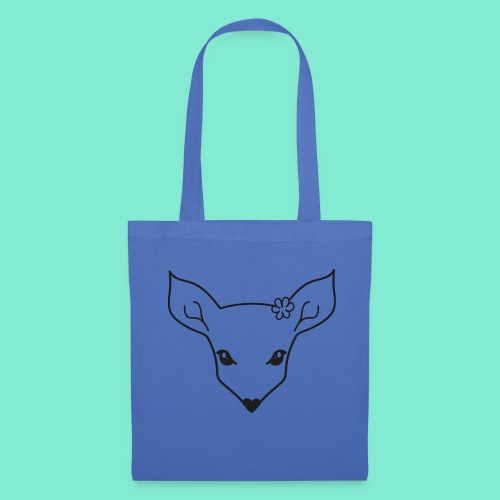 little fawn t-shirt - Borsa di stoffa