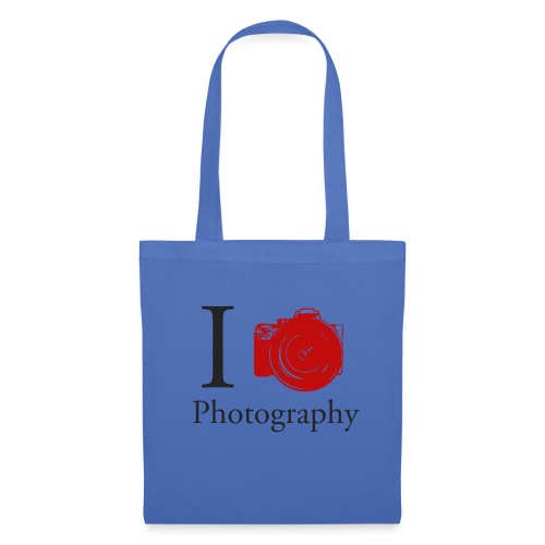 I Love Photography Collection - Stoffbeutel