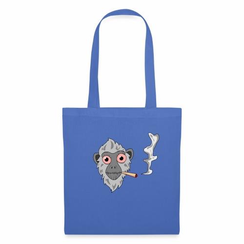 Smoking monkey - Tote Bag