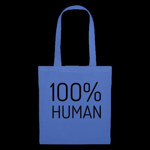 100% Human - Tas van stof