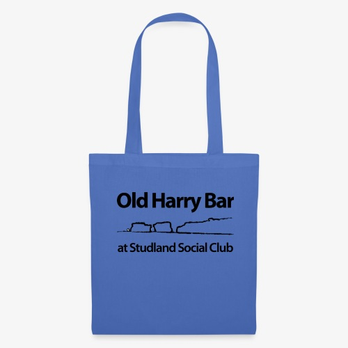 Old Harry Bar logo - black - Tote Bag