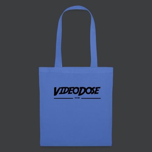 t-shirt_design_VideoDose - Tas van stof