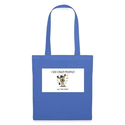 CRAZY_PEOPLES - Tote Bag