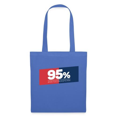95% - Io sto con Gasperini - Borsa di stoffa
