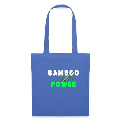 Bamboo Power T-shirt - Tas van stof