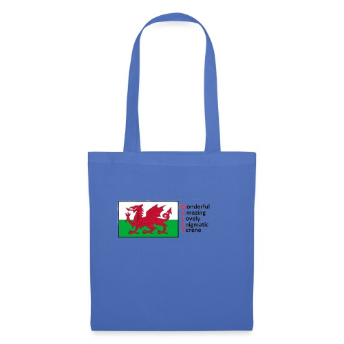 wales_letters - Tote Bag
