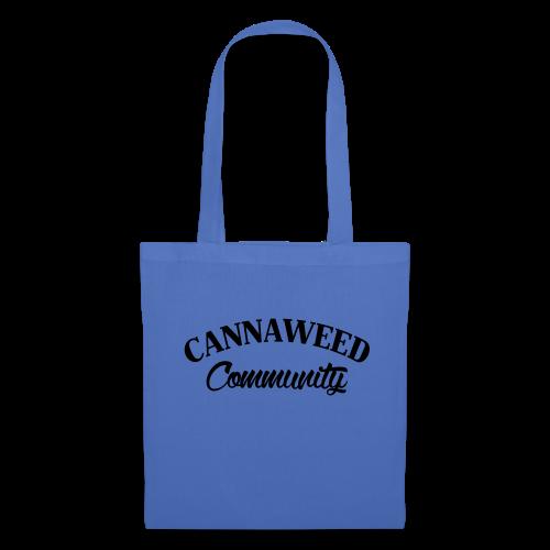 noir sur blanc CWD Communauté - Tote Bag