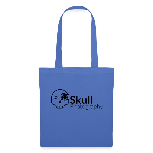 Skull_Photography_Logo_black - Stoffbeutel