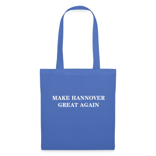 Make Hannover Great Again (Weiß auf Rot) - Stoffbeutel