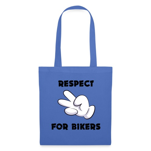 Respect for Bikers - Borsa di stoffa