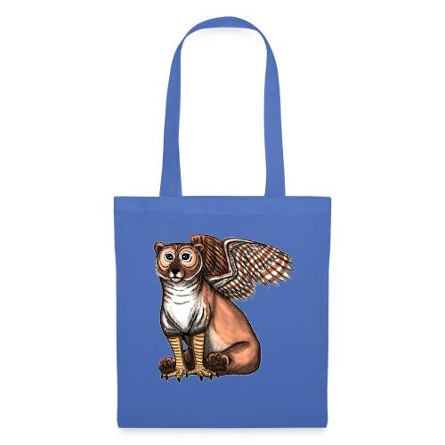 Bear Owl - The Cuter Cousin - Tote Bag
