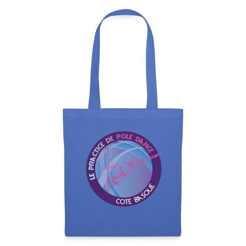 Logo poledance violet - Tote Bag