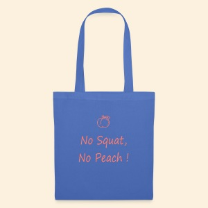 No squatting, no peach coral - Tote Bag