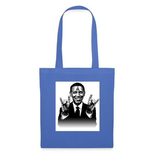 Barack Obama Illuminati - Stoffbeutel
