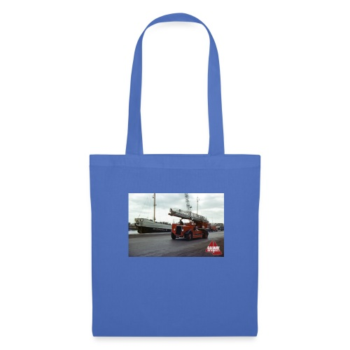 Fire Truck at Galway Docks 1970 - Tote Bag