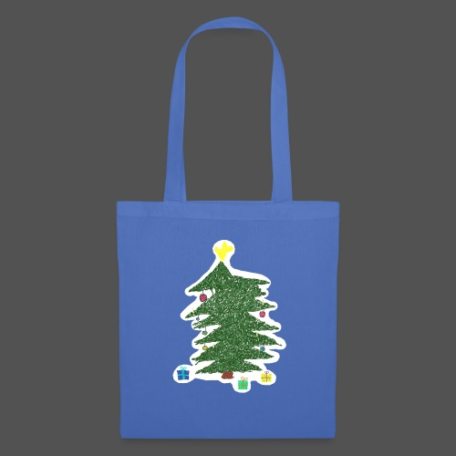 Christmas Kids-Drawing - Stoffbeutel