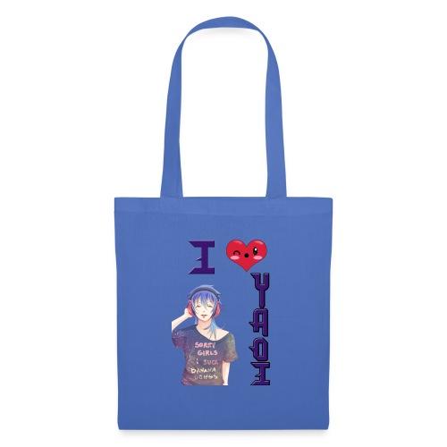 I love Yaoi ( Aoba ) - Bolsa de tela