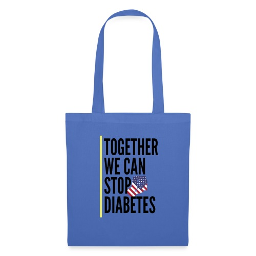 Together We Can Stop Diabetes world diabetes day - Tote Bag
