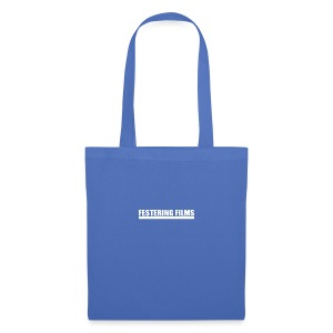 Festering Films Logo (White) - Tote Bag