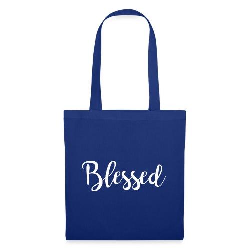 blessed white - Stoffbeutel
