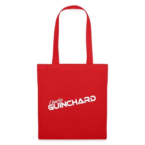 183 Charlie Guinchard name white - Tote Bag