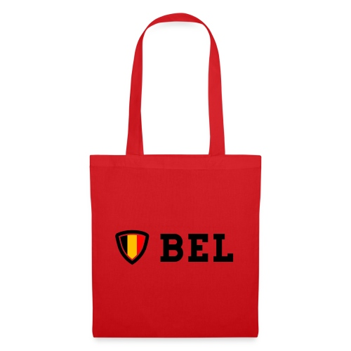 BEL Belgium Blason tricolore Football - Sac en tissu