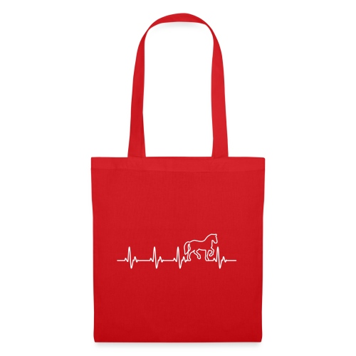 Vorschau: Horse Heartbeat - Stoffbeutel