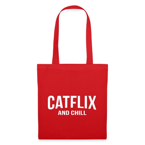 Catflix and Chill - Stoffbeutel