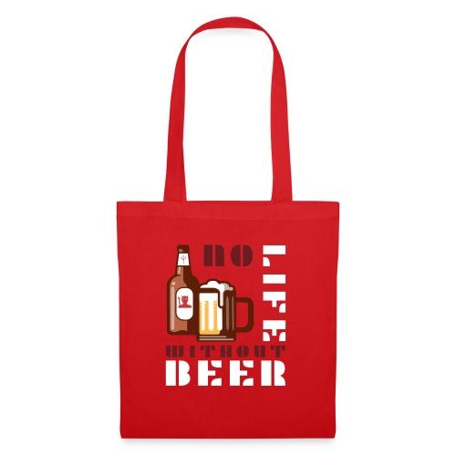 No life without beer - Sac en tissu