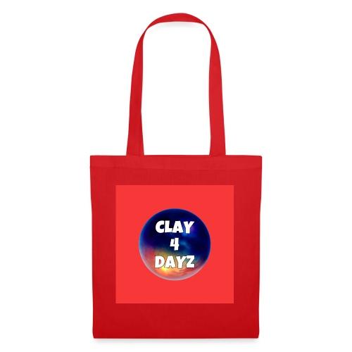 CLAY 4 DAYZ: GALAXY LOGO (RED) - Tote Bag