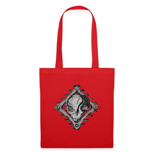 Visitor from alien planet - Tote Bag