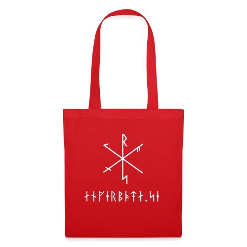 Angerboda logo med bindruna - Tygväska