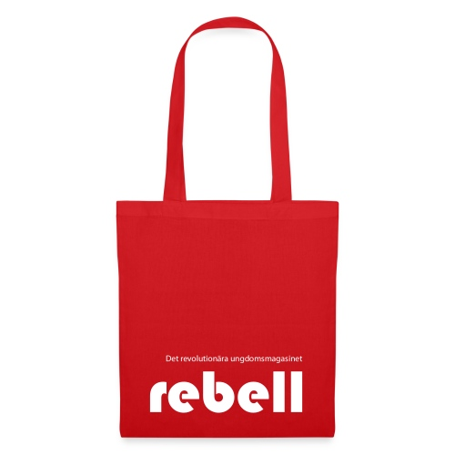 Rebell logga med text - Tygväska