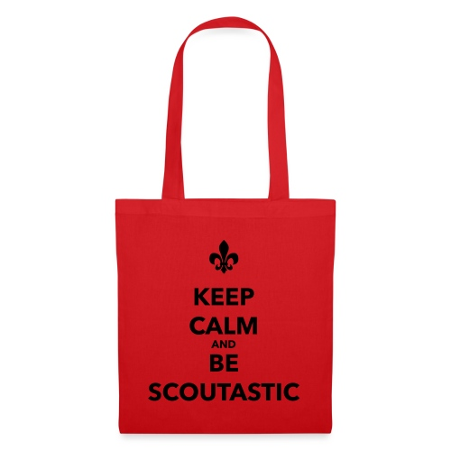 Keep calm and be scoutastic - Farbe frei wählbar - Stoffbeutel