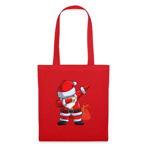 Weihnachtsmann Santa Claus - Stoffbeutel