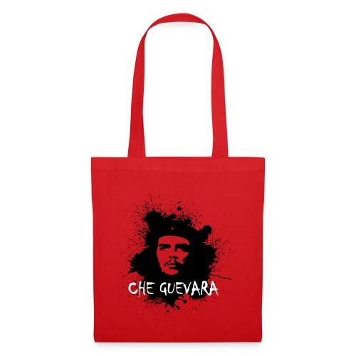 Che Guevara Splatter Männer Langarmshirt - Stoffbeutel