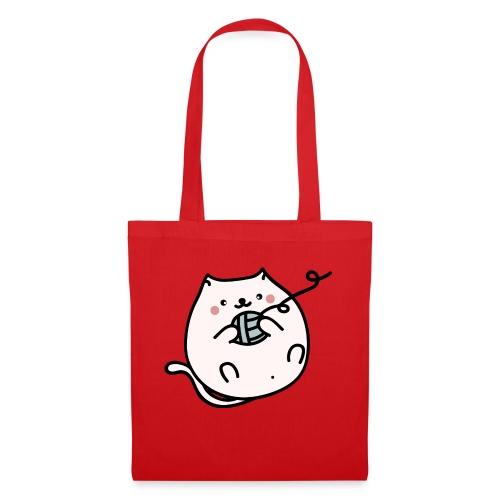 Gatito Kawaii - Bolsa de tela