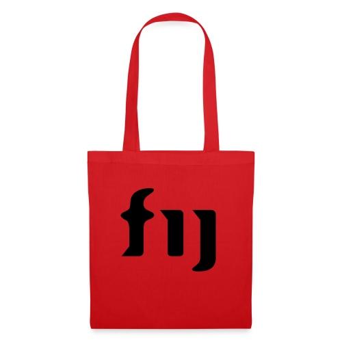 FIJ logo (svart) - Tygväska